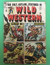 Je109 Wild Western Comic Kid Colt Arrowhead Black Rider Two-Gun Kid No35