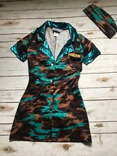 Major Trouble Military Costume Army Camouflage XS Small
