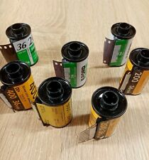Lot of 25 Empty Assorted 35mm film canisters/cassettes/cartridges