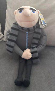 """Despicable Me 2 Gru Soft Plush Toy Size 18"""" With Tags Minions"""