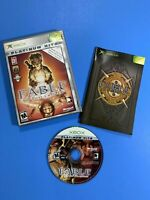 Fable: The Lost Chapters Platinum Hits (Microsoft Xbox, 2005) Complete ship fast