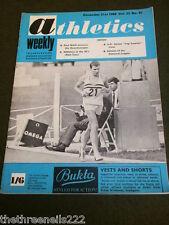 ATHLETICS WEEKLY - PAUL NIHILL - DEC 21 1968