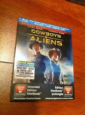 Cowboys & Aliens Blu-ray Steelbook | Future Shop Exclusive | Rare OOP | NEW