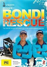 Bondi Rescue : Season 6 (DVD, 2011, 2-Disc Set)-REGION 4-Brand new-Free postage