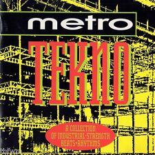 Metro Tekno - CD - TECHNO ELECTRO EBM INDUSTRIAL '92