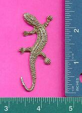 6 wholesale lead free pewter lizard flats C3136