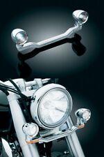 HONDA VT750 C C4 C5 C6 C7 Shadow SPOTLIGHTS w/ BRACKET / BAR: Kuryakyn 4001 4002