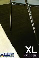 carré ! Handtuft Tapis ARTE ESPINA tapis uni marron 250x250 cm neuf
