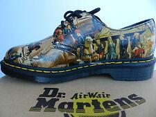 Dr Martens 1461 Chaussures Femme Homme 38 D'Antonio Renaissance Art Doc UK5 Neuf