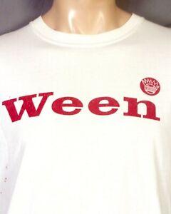 vintage 90s 00s Y2K Ween 2003 Tour T-Shirt Concert Punk Sonic Youth Pavement L