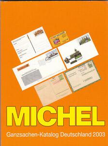 Katalog Michel, Ganzsachen Katalog 2003