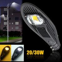20W 30W LED Road Street Flood Light Industrial Lamp Outdoor Garden Yard 85-265V