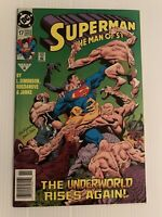 Superman: The Man of Steel #17 (1st Appearance Doomsday) Newsstand  9.0 VF/NM