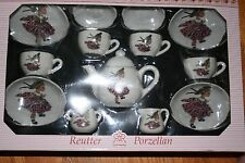 Madame Alexander Doll Club 2017 Richmond Convention Child Size Tea Set MADCC