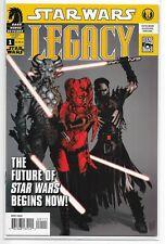 Star Wars Legacy 1 Dark Horse 2006 1st Darth Krayt Nihl Cade Skywalker 1st Print