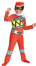 Red Ranger Dino Classic 3T-4T Child Boys Costume