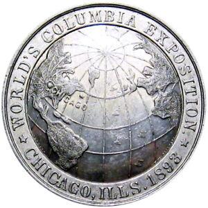 1893 Chicago Illinois Hamilton Ohio Columbian Expo So Called Dollar Ritchie &Dye