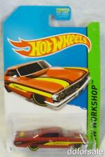 1964 Custom Ford Galaxie 500 1/64 Die-cast Model From HW Workshop by Hot Wheels