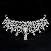 Crystal Bridal Wedding Rhinestone Hair Headband Crown Comb Tiara Prom Pageant