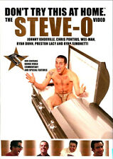 Steve-O: Don't Try This At Home NEW DVD Sealed FREE SHIP & TRACK CONT US
