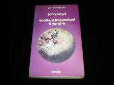 PDF 210 John Boyd : Quotient intellectuel à vendre Edition mars 1976 TBE