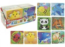 Kids Wooden Animal Jigsaw Puzzle Toddler Learning Educational Toy Christmas Gift