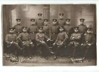 Großes CAB Foto Gruppenbild Soldaten - 1900er