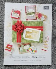 Stampin up Herbst Winter Katalog  2018