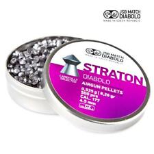 JSB Straton Diabolo .177 Air Rifle Pellets Pointed Air Gun Ammo Full Tins 500