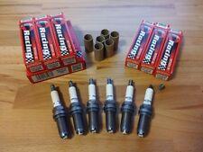 6x Bmw 325 2.5i E90-93 y2004-2013 = Brisk Performance LGS Silver Spark Plugs