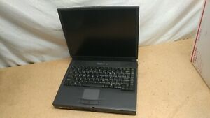 """Vintage WinBook XL2 Laptop 14"""" LCD Screen CD rom Floppy Battery hard drive caddy"""