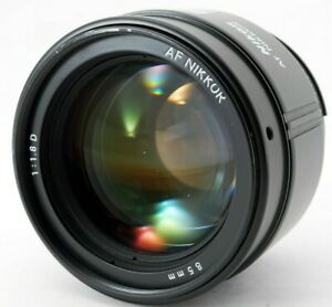 【NEAR MINT】 Nikon NIKKOR 85mm f/1.8D AF portrait telephoto Prime Lens From JAPAN