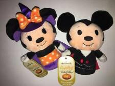 Hallmark Itty Bitty Halloween Limited Edition Vampire Mickey AND Witch Minnie