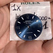 Rolex Air King 14000 Blue Dial Rare Used 3 / 6 / 9 (As Photos)