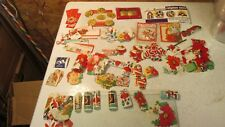 Old Christmas Package Stickers & Gift Tags