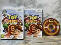 Disney Pixar's Toy Story Mania Complete With Manual Nintendo Wii Game Free POST