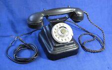 EXC!!!  Antique vintage KGB PHONE 1961 BAKELITE USSR Soviet Russian Coat of arms