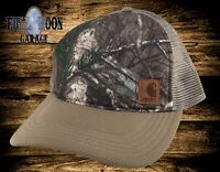 New Carhartt Hartley Camo Mens Snapback Trucker Hat Cap