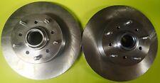 ONE PAIR 2 Piece 1967-1969 chevrolet Camaro pontiac Firebird disc brake rotors