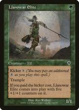 Magic MTG Tradingcard Invasion 2000 Llanowar Elite 196/350