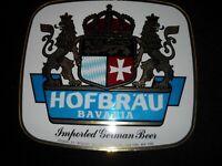 VINTAGE HOFBRAU Bavaria Beer Sign/Stand Up Sign ~ RARE ~ BRAND NEW !
