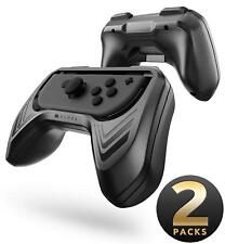 Mumba 2 Pack for Nintendo Switch Joy-Con Controllers Handle Grip Kit Holder ABS