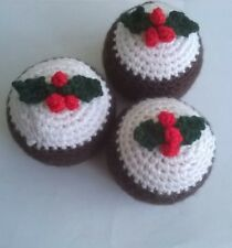 Handcrafted Christmas Pudding, cover suitable for Terry's Chocolate Orange.