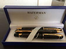 Vintage Waterman Philéas Indus Grey fountain pen,ballpoint pen & pencil set.