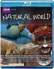 NATURAL WORLD COLLECTION (2010) - David Attenborough - 4x BBC Series NEW BLU-RAY