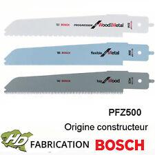 3 lames de scie égoïne pour Bosch PFZ 500 E - 2608656934