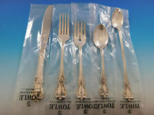 Old Master by Towle Sterling Silver Flatware Set for 8 Service 45 pieces New