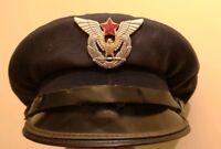 Yugoslavian Air Force Officer Hat M 55 1st type size 53 Yugoslavia JNA SFRJ