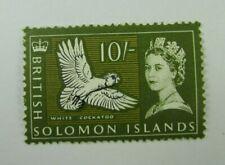 British Solomon Islands  SC#141  White Cockatoo   MNH stamp