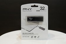 New PNY Attache 32GB USB Flash Drive